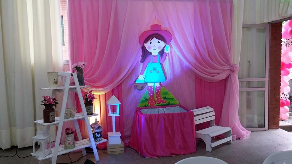 Fiestas personalizadas ideas de decoraci n de granja para - Decoracion de ninas ...