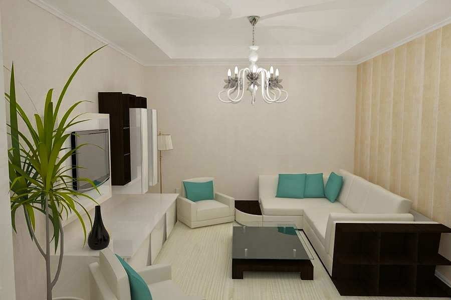 Design interior living apartament modern