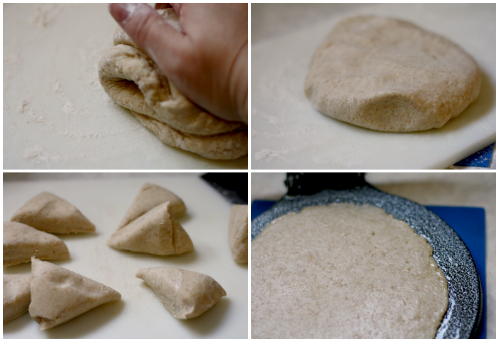 chapati or roti dough