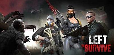 Left to Survive PvP Zombie Shooter Mod Apk