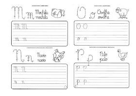 Caligrafia para imprimir e caderno de caligrafia - Atividade Caligrafia - 11