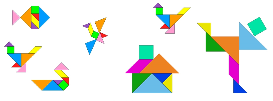 Modelos De Tangram Para Imprimir Atividade E Moldes Indagacao