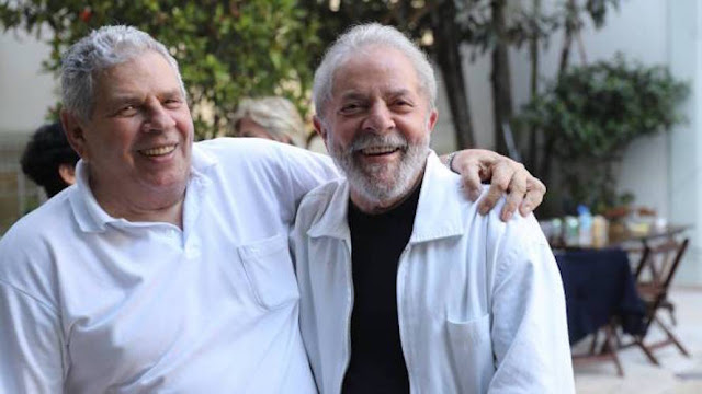 Irmão de Lula, morre aos 79 anos em São Paulo; Ex-presidente vai solicitar à justiça para comparecer ao velório