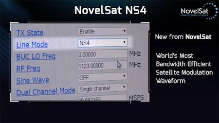 Sistem Transmisi Satelit NovelSat Terbaru