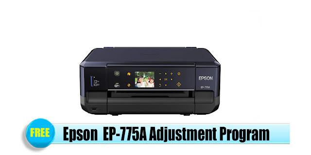 Epson  EP-775A Adjustment Program