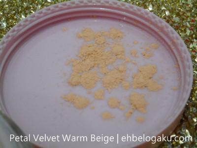 Petal Velvet Warm Beige,kod beige powder
