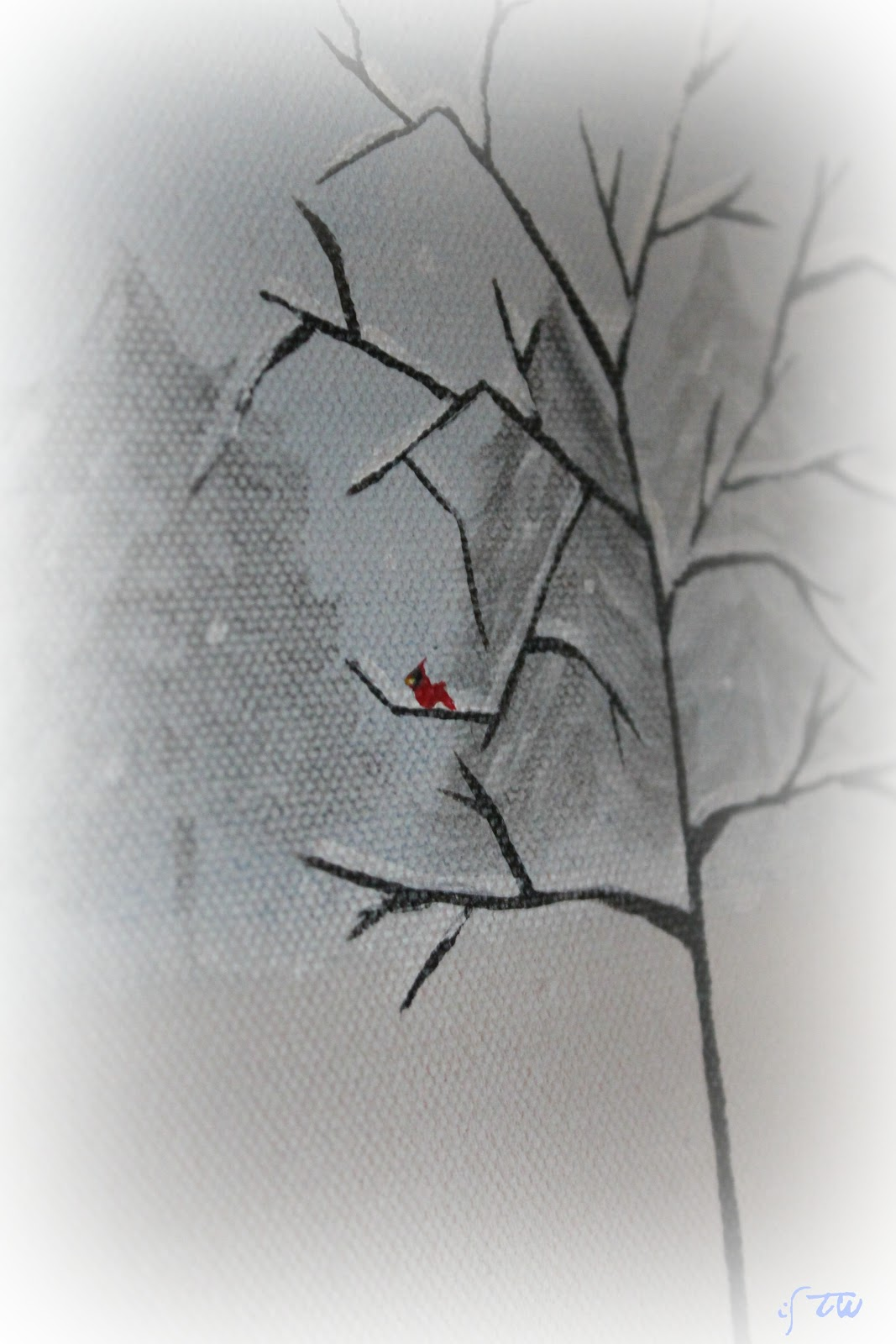 ISavor The Weekend: A Very Simple Winter Mantel