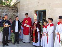 Cvjetnica Nadbiskup Nikola Eterović Pučišća slike otok Brač Online