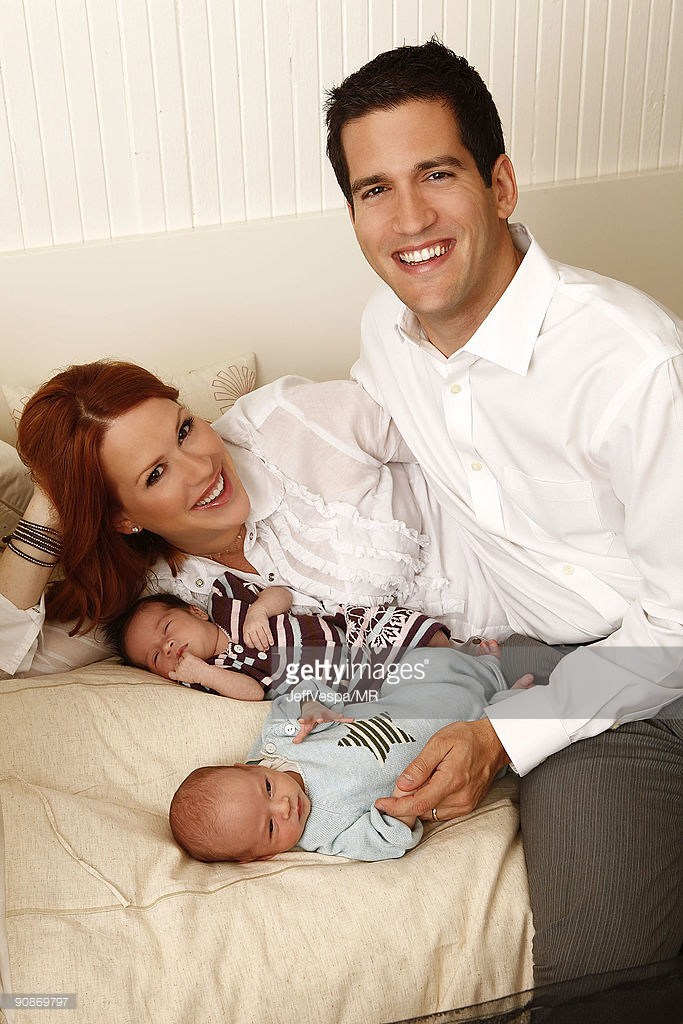 roman stylianos gianopoulos - Molly Ringwald Introduces Twins Adele and Roman! – Moms & Babies