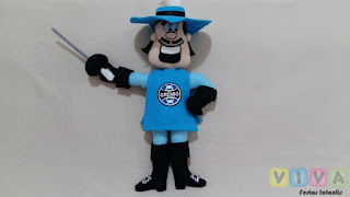 Locação Boneco Mascote Grêmio Mosqueteiro Porto Alegre