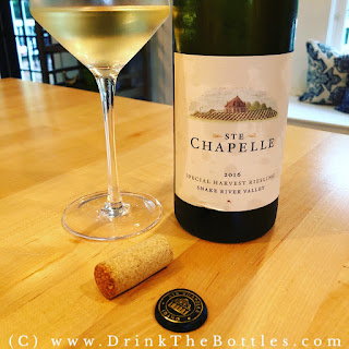 2016 Ste Chapelle Special Harvest Riesling label