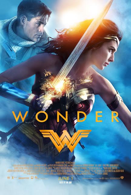Wonder Woman - Steve Trevor and Diane Prince Poster