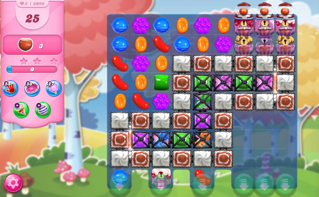Candy Crush Saga level 6098