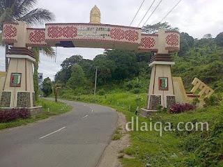 Tugu Selamat Datang di Kabupaten Pesawaran