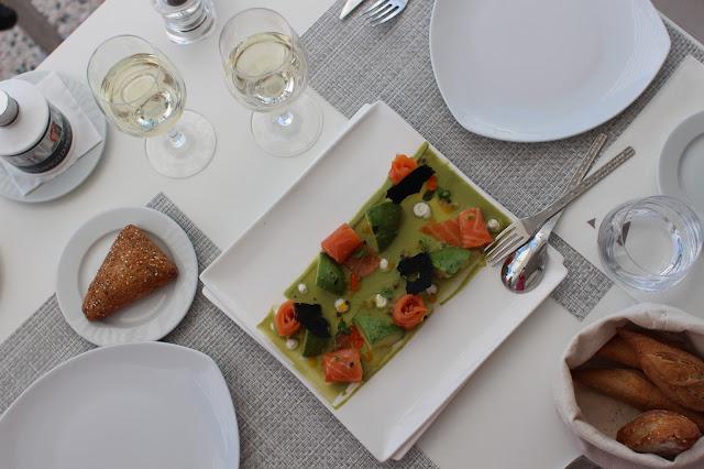 la cigale vista beach restaurant cote d azur
