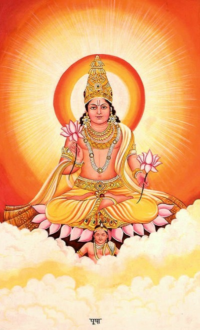 Hindu lord bhaga picture