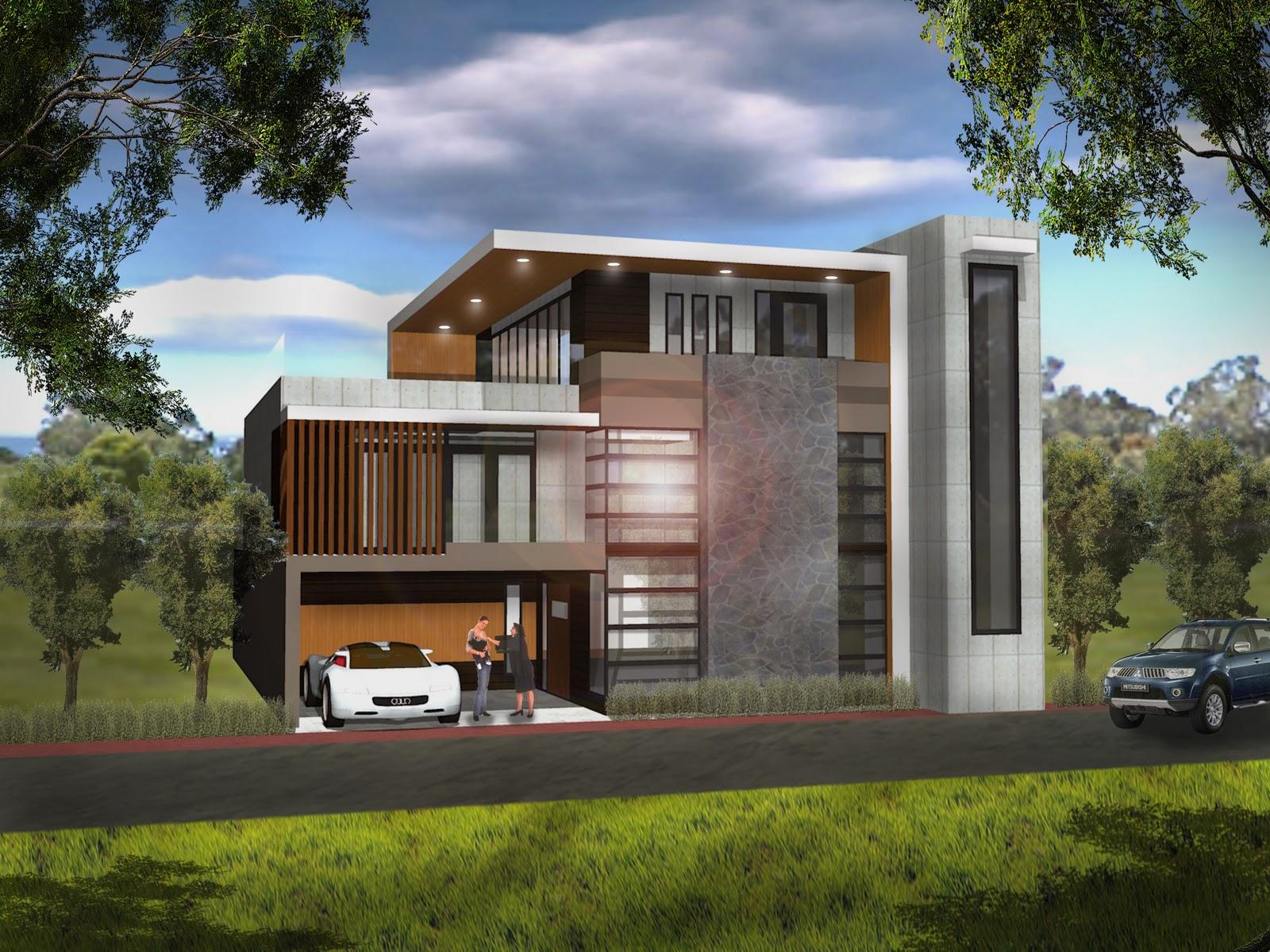 Modern Bahay Kubo Floor Plan
