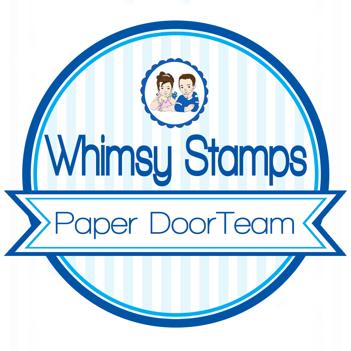 ~ Designing for Whimsy Stamps Paper Door ~