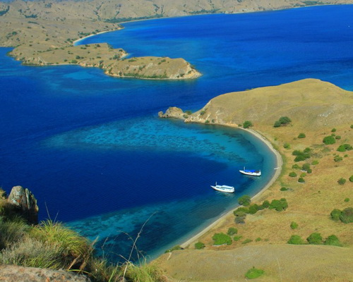 Tinuku.com Komodo National Park in East Nusa Tenggara home the dragon and coral reefs the world's most exotic