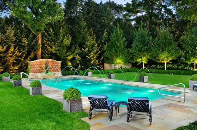 Ukraine Modern Cascade Garden Pool designed By Mail