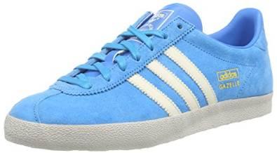 Adidas Gazelle OG Light Blue Or Yellow | Shoe Mojo