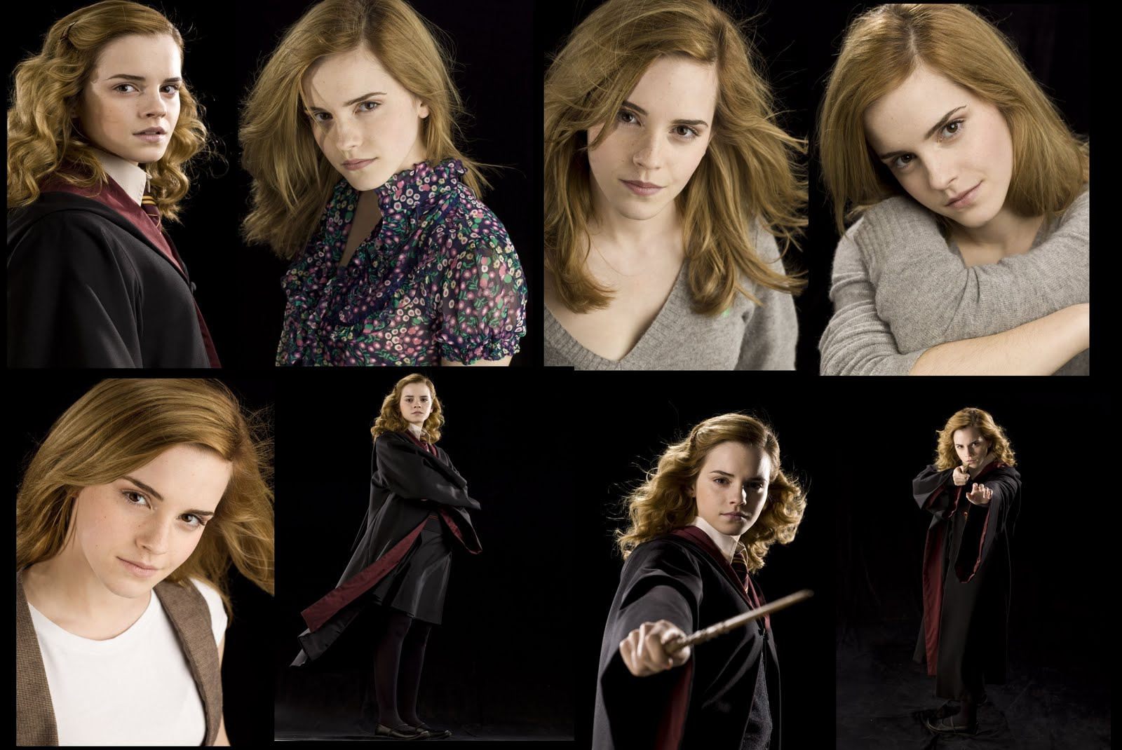 Celebrity Cuts: Emma Watson- Harry Potter Collection- 8 ...