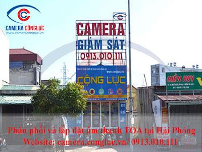 Camera Cộng Lực là nhà cung cấp và lắp đặt uy tín hàng đầu số 1 tại Hải Phòng về các thiết bị an ninh, hệ thống âm thanh thông báo, báo cháy,...