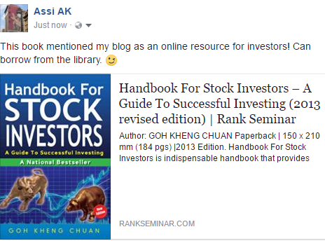 Recommended books for FA and TA  | A Singaporean Stocks
