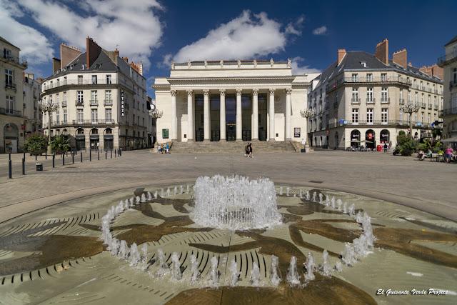 Plaza Graslin - Nantes, Francia por El Guisante Verde Project