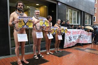 Protesta contra los recortes sociales