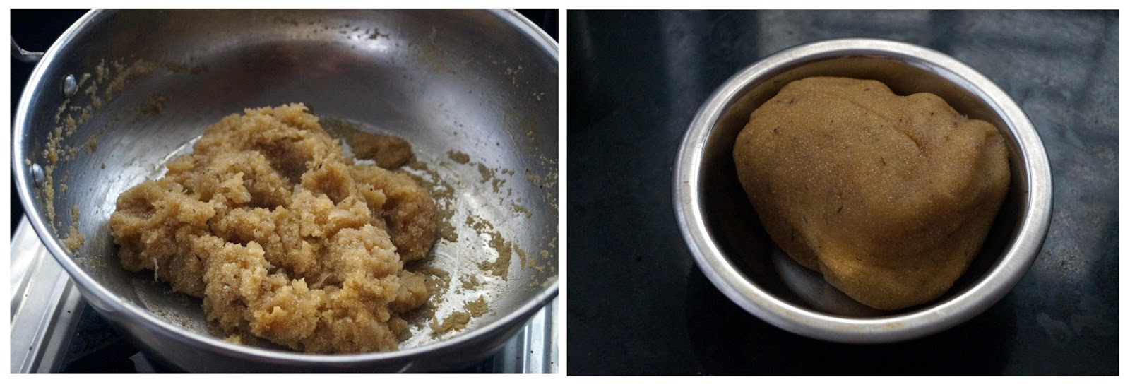 preparation of rava kudumulu for vinayaka prasadam