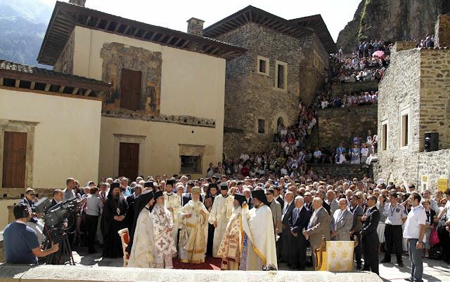 Θα γίνει άραγε και πάλι Πατριαρχική Θεία Λειτουργία στην Παναγία Σουμελά στον Πόντο;