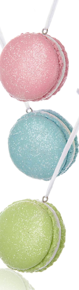 KURT S ADLER XMAS Macaron Ornaments