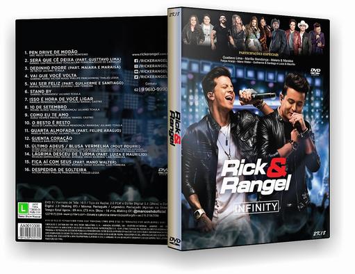 DVD-R Rick e Rangel – OFICIAL