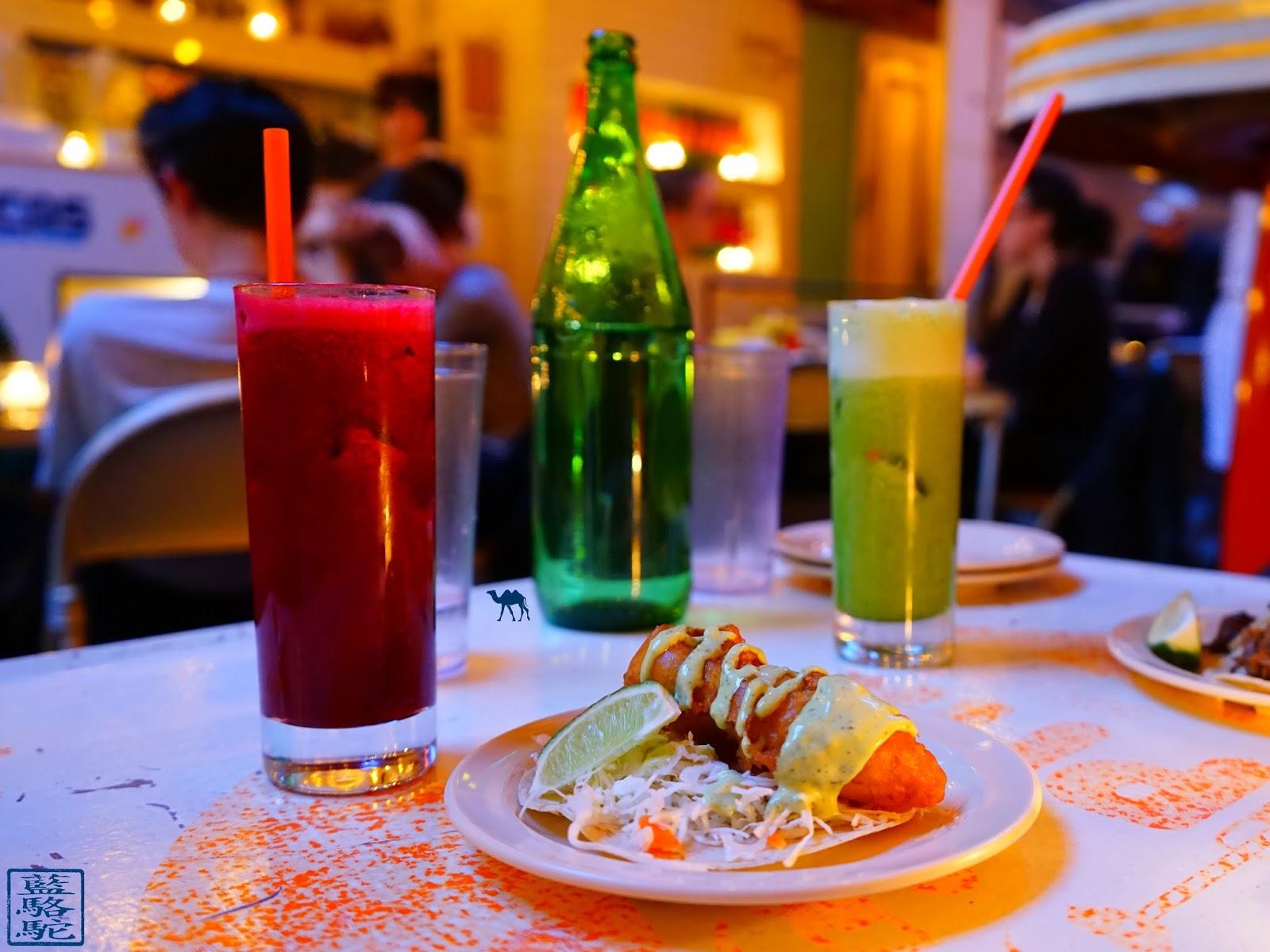 Le Chameau Bleu - Tacombi - Cocktails Restaurant de Tacos à New York USA