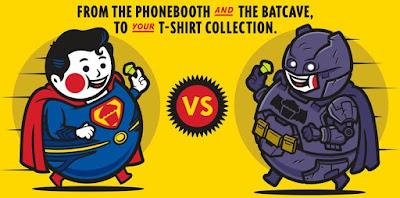 Batman v Superman: Dawn of Justice T-Shirt Collection by Johnny Cupcakes