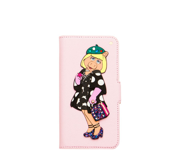 The Kate Spade New York x Miss Piggy phone case. Photo: Courtesy