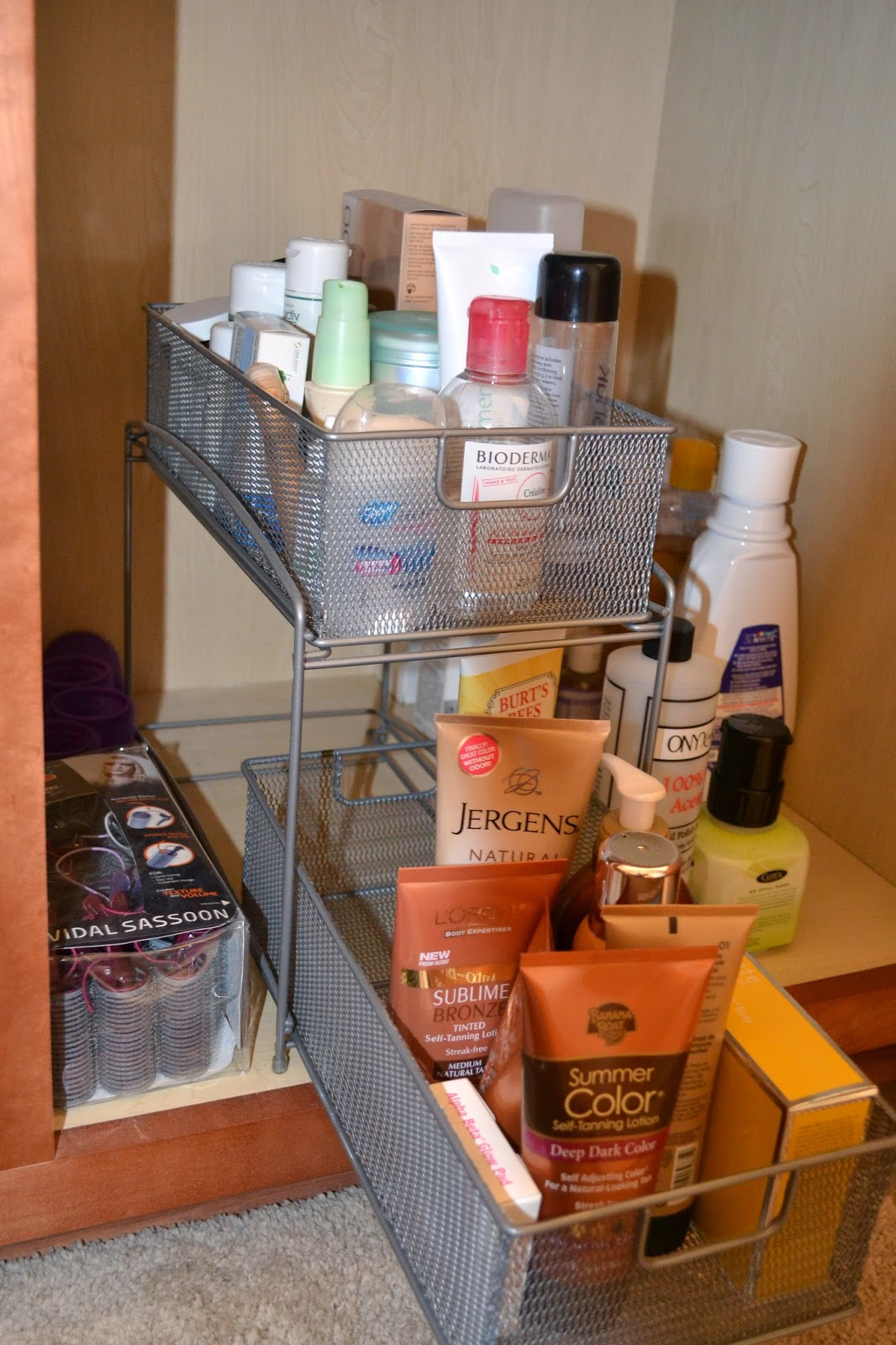 bathroom vanity ideas. Bathroom Counter Makeup Organizer  Image Of Bathroom Vanity
