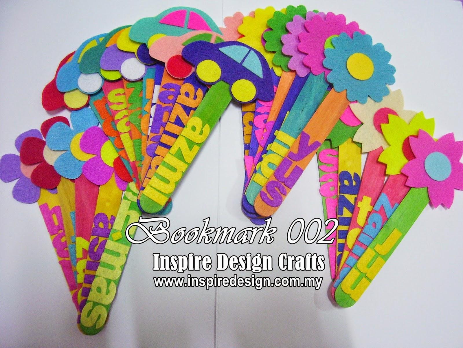 Inspire Design Official Blog Order Bookmark Kod 002