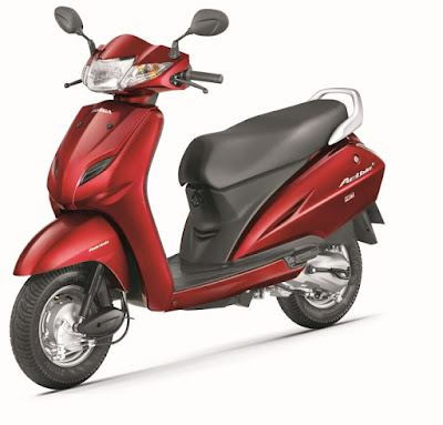 Honda Activa 4G automatic scooter with BSIV compliance