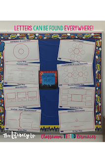 Letter hunts are a great way to show students that letters are important out in the world around them.