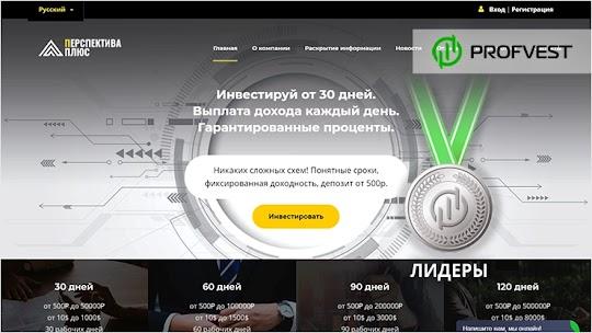Лидеры: PerspectPlus – 58% чистого профита за 3 месяца!