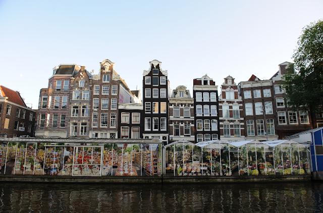 Mercado de flores em Amsterdã