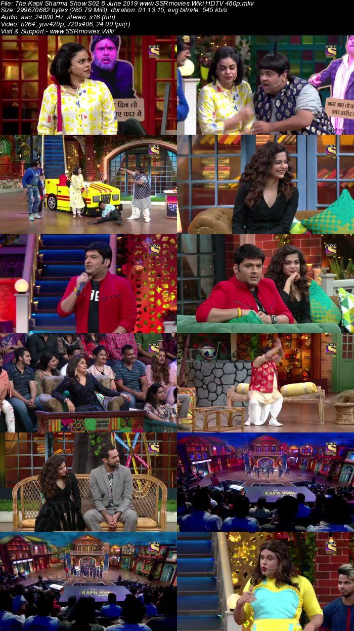 The Kapil Sharma Show S02 8 June 2019 Full Show Download HDTV HDRip 480p