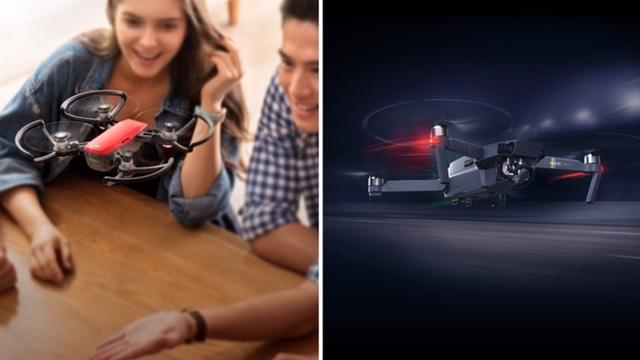 DJI Spark VS Mavic Pro 空拍機對決:戶外航拍 / 室內自拍這樣選、