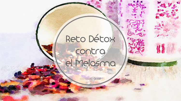 Reto Detox para el melasma