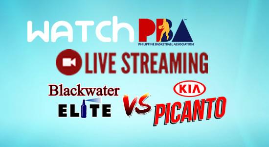 Livestream List: Blackwater vs Kia game live streaming February 16, 2018 PBA Philippine Cup