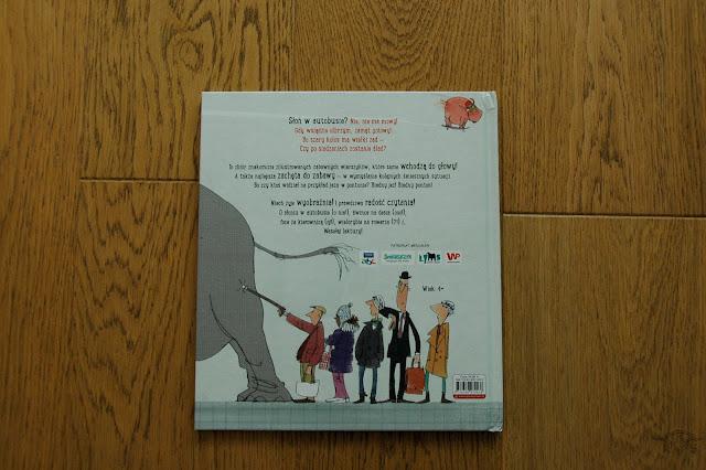 jak podróżować ze zwierzakiem prószyński i s-ka słoń w autobusie? książki dla dzieci o zwierzętach
