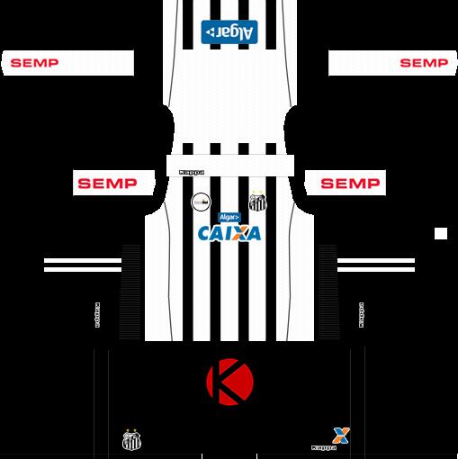 ac9219d31 Santos FC 2017 18 - Dream League Soccer Kits - Kuchalana