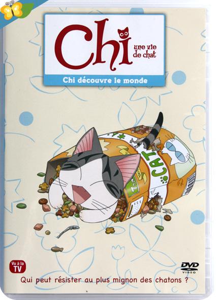 Chi une vie de chat - Volume 2 DVD : Chi découvre le monde
